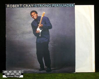 Robert Cray Strong Persuader NM Vintage Vinyl LP Record Album