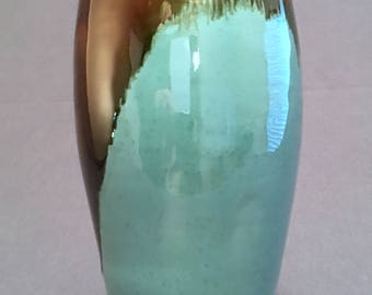 pottery vase, ceramic vase, bottle, beautiful, glazed, handmade present, handmade pottery, colorful, stoneware, lovely, cool gift, sculpture
