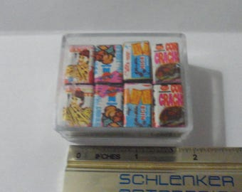 miniature 1:12 can food