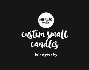 Custom Small Candles - 2x1oz