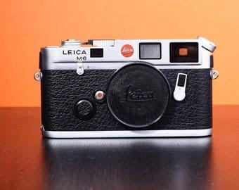 Leica M6 silver body