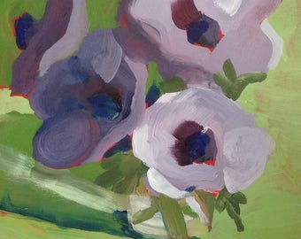 Acrylic flower painting 5