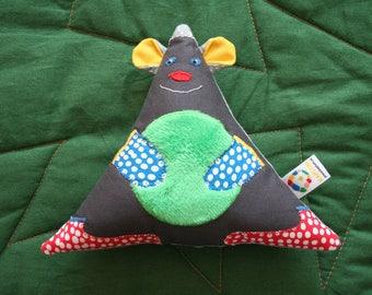 Handmade Soft Toy Bear, beeping toy, plushie, baby shower gift, kids toy, plush doll, children toys, handmade gift, handmade toy, softie