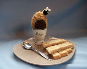 Bee Hive Egg Cosy