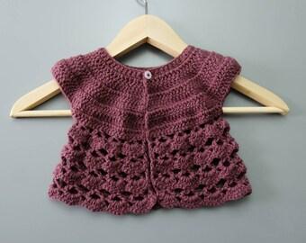 Handmade Crochet Cardigan