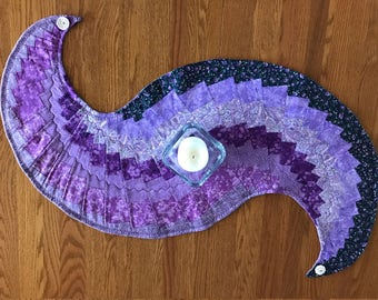 Purple, Glorious Purple Spiral Runner