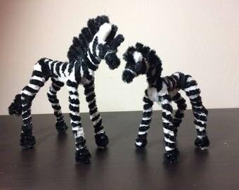 Pipe Cleaner Zebra