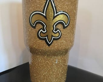 New Orleans Saints 30 oz Ozark Trail Stainless Steel Tumbler