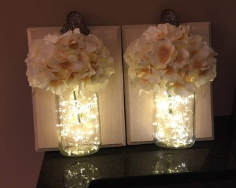 Mason Jar Wall Sconces/Vases/Other Creations