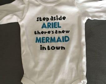 Little Mermaid onesie/t-shirt