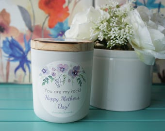 Mother's Day gift/Scented Soy Candle/Handpoured