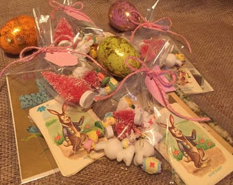 Altered Art Supply Kit Easter goodies for mixed media artists
