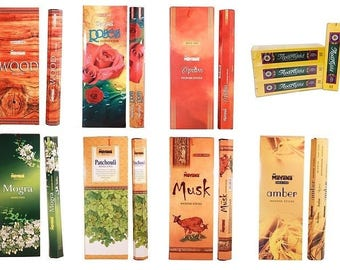 Mavana Incense - 20 stick hex box - Choose your scent