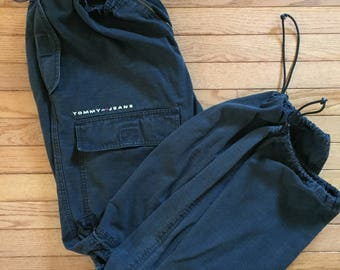 Oversized Tommy jeans elastic pants