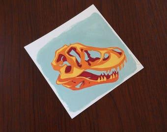 Tyrannosaur Skull no. 1