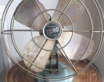 cool old fan--Zero