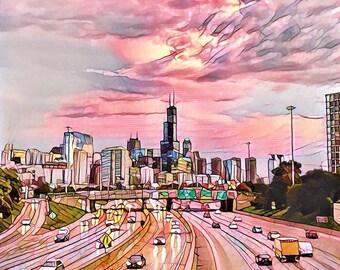 Chicago Skyline Sept. 2016