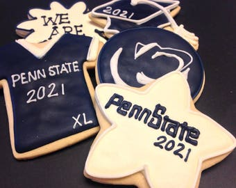 Penn State Logo Cookie favors | Nittany Lions | College mascot