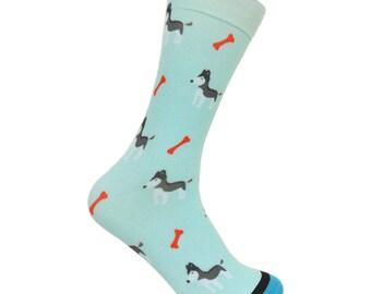Husky Puppy Socks