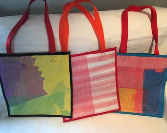 Tote Bags Made from Recycled Materials
