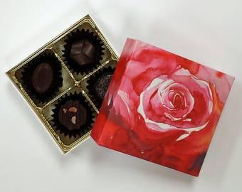 Truffles Box Artisan Dark Chocolate Mother's Day Gift