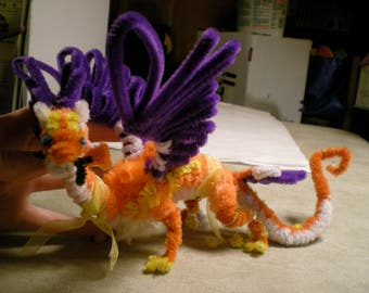 Pipe Cleaner Coatl
