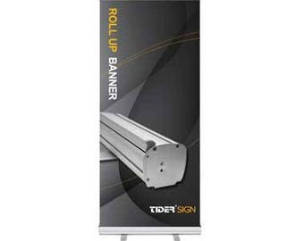 "Retractable Banner Stand 33"" x 81"""
