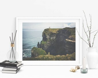 Cliffs Of Moher Photograph (Ireland Photo,Travel Photography,Wall Art Prints,Printable Art,Digital Prints,Mothers Day Gift,Digital Download)