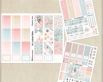 Shopping Spree // Weekly Sticker Kit for Happy Planner // Printable / Cricut / Instant Download