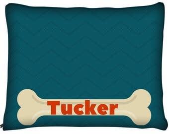Dog Bone, Dog Bed, Modern Dog Bed, Personalized Dog Bed, Large Dog Beds, Custom Dog Pillow, Designer Dog Bed, Dog Bed Pillow, Dog Bed Cover