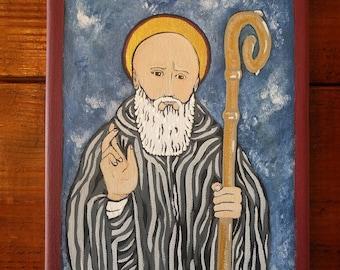 Saint Benedict Painting
