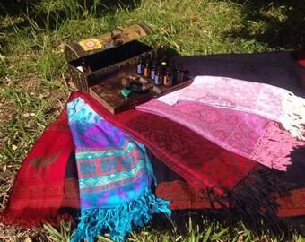 Nepali Cashmere shawl