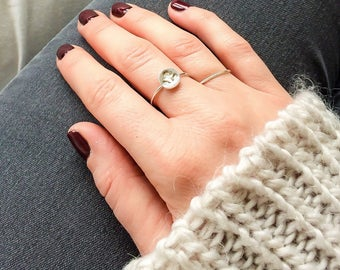 Anchor ring | sterling silver