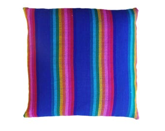 Mexican Throw Pillow Medium Plain