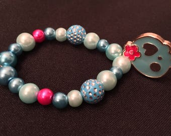 Girls- Day of the dead bracelet