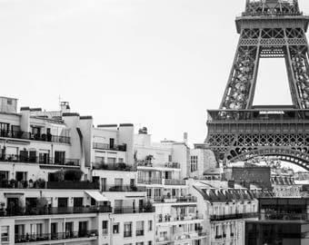Wall Art Printable, Eiffel Tower, Paris Digital Photography, Affordable Digital Photo, Paris, Instant Download, Prints Downloadable Paris