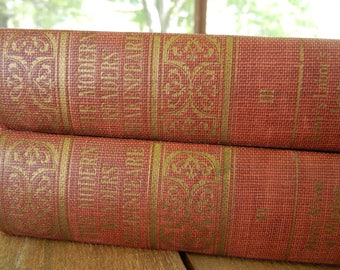Vintage Shakespeare Hardcover Books, Copyright 1909 Bigelow Smith & Co, The Modern Readers Shakespeare