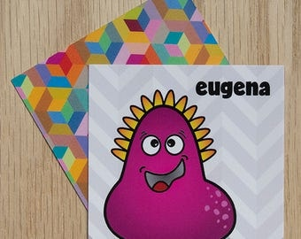 "Replacement Card ""Eugena"" — Oh Those Monsters: Memory Game"