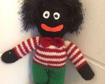 """Golliwog like  """"ITs ok to be different doll"""""""