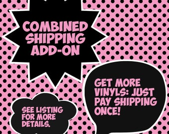 ADD-ON ONLY: Combined Shipping Offer