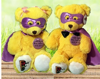 Brian or Brianna The Ready Set Go 15″ Anti-Addiction Bear For Those Fighting Addiction