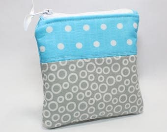 R + F Sample Bag - Small Cosmetic Bag for Samples by CraftyKC