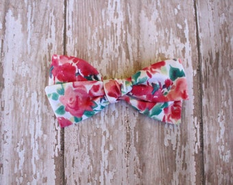 Watercolor Hand-Tied Bow