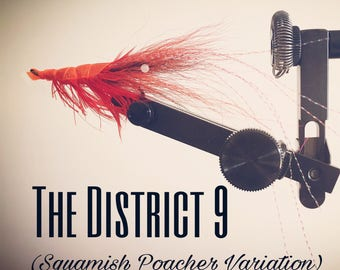 District 9 (Squamish Poacher Variation) - Fly Fishing - salmon and steelhead