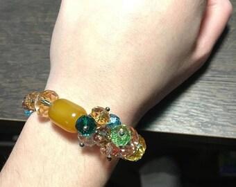 Cream Beaded Bracelet