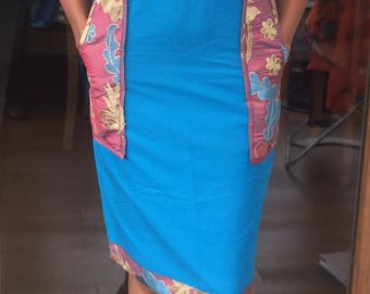 "Ankara Dress ""Cora"""