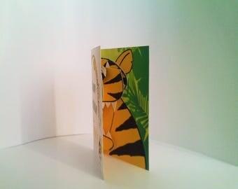 Tiger Birthday 3D Card