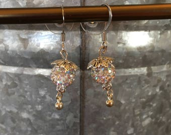 Handmade Sparkling Earrings