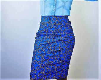 Pencil Skirt, Ankara Skirt, Skinny Skirt, African Skirt, African Print Skirt, Dashiki Skirt, Ankara Print Skirt, Angelina Skirt, Kente,