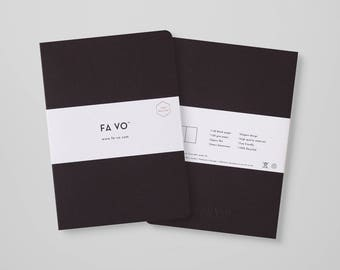 FA VO Notebook Coffee - 100% Recycled Notebook (205 x 145 mm)